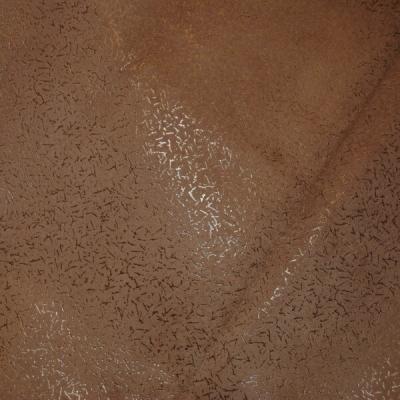 Кожа Свиная Принт паутинка какао е5851
