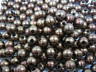 Пластиковые бусины для рукоделия шоколад