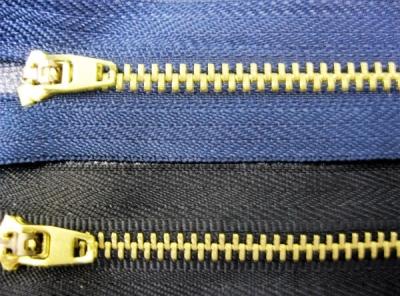 Молния металлическая для обуви и одежды-18см