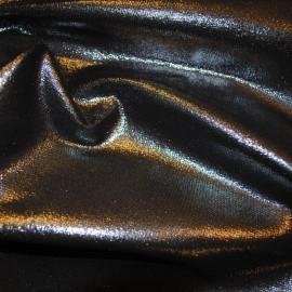Кожа Овчина Принт серебряный крек А341