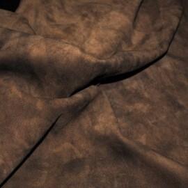 Кожа Овчина Замша рыжая Р4601