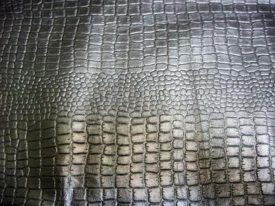 Кожа КРС крокодил коричневый Л4312