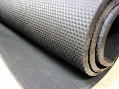 Резина микропористая НПШ 7,5 мм размер 1200 * 770 черная