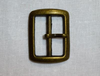 Пряжка 2,5 см металлическая
