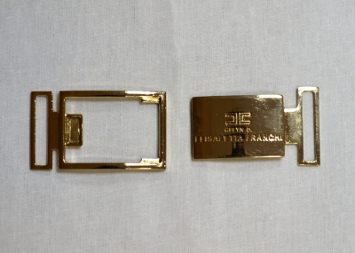 Пряжка металлическая золотой на магните