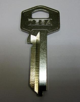 Заготовка для ключей 00057 TE8D_TS7_TE2R_TSA22L TESA английские