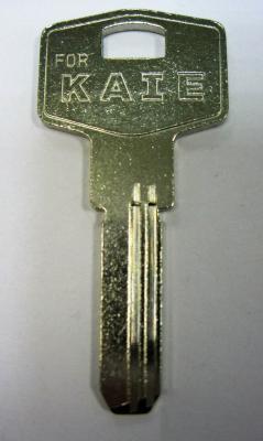 Заготовка для ключей 00548 KAE1_KAL3_KLE1_KAL1 Kale правый вертикальная