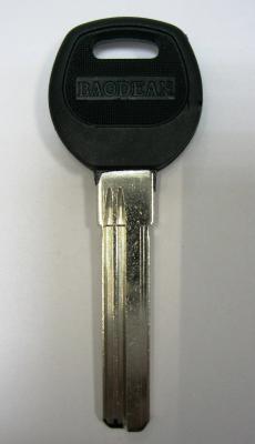 Заготовка для ключей 00607 BAO-2DP средняя, ручка пластик вертикальная (38 мм)