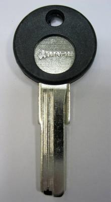 Заготовка для ключей 00616 WHC-1D (whc левый) вертикальный