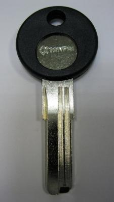 Заготовка для ключей 00617 WHC-1 (whc правый) вертикальная