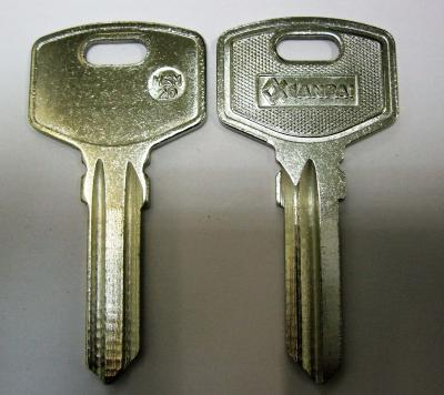 Заготовка для ключей 00042 MSM2D_x-x-x-MCM Английские