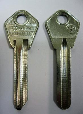 Заготовка для ключей 00147 НАК-5 Английские