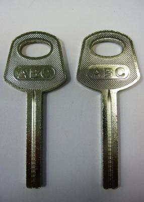 Заготовка для ключей 00150 SOLEKS квадратная с пазом узким 33 мм