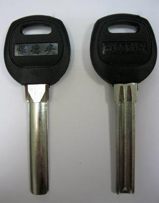 Заготовка для ключей 00654 Baoden полукруг 2 паза (38*7,82мм)