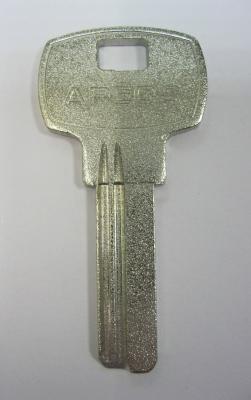 Заготовка для ключей 00531 AP1D_APE2_APK2R_APS2L Алекс APEX-01 матовый (24мм)