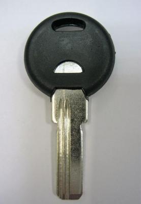 Заготовка для ключей 00618 пластик 2 паза короткие левые (22,8*7,9 *2,3 мм)