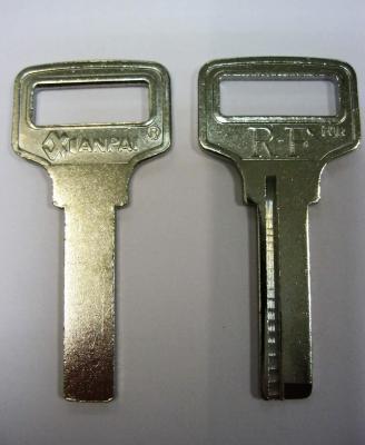 Заготовка для ключей 00628 1 паз (7,5*27 мм) КНР вертикальная