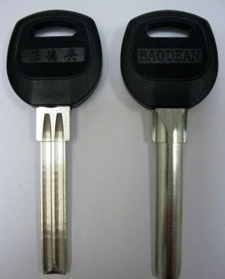 Заготовка для ключей 00652 CANAS PSNJ 1P SANJIN полукруг 2 паза 7,5*40 мм (pan-pan пластик) вертикальные