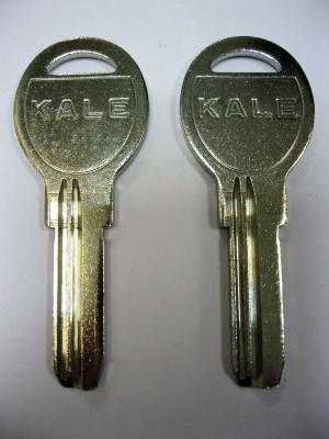 Заготовка для ключей 00511 KAE11D_KAL11_KLE9R_x_KAE5 KALE5 2 паза верикальные
