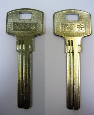 Заготовка для ключей 00564 BAO-3D BAODEAN 3 паза левые длинные верикальные