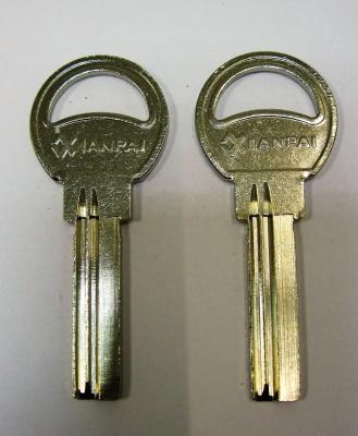 Заготовка для ключей 00581 Е-020 вертикальная