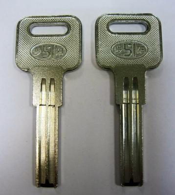 Заготовка для ключей 00642 MASL1_MAS1_MSL1_x MasterLock полукруг проф Э вертикальная