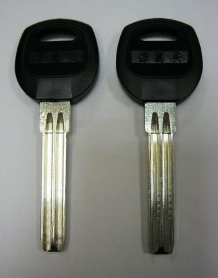 Заготовка для ключей 00653 CANAS PSNJ_2P_SAN-5P SANJIN полукруг 2 паза (8*38мм) (pan-pan плас. широкий) вертикальные