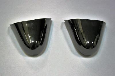Носок для обуви металлический темный никель