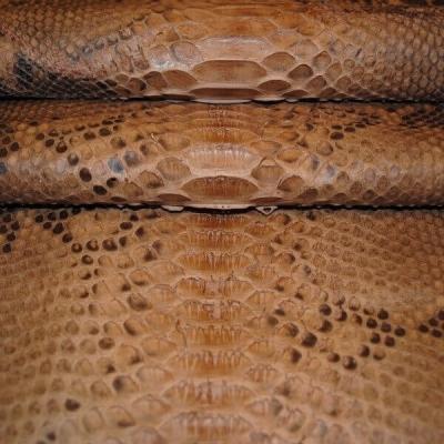 Кожа Питон натуральный коричневый (ЗЛП)