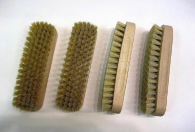 Щётка для обуви Сапфир натуральный ворс 15,5 см производство Германия
