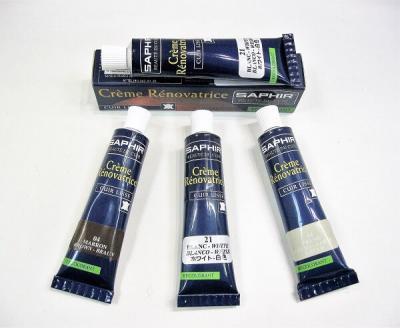 Крем-восстановитель Сапфир для всех видов гладких кож (жидкая кожа) 0851 RENOVATRICE  25мл