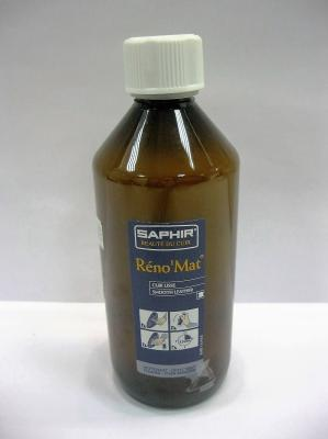 Очиститель Сапфир Reno Mat 500 мл 0518 для всех видов гладких кож для глубокой и интенсивной чистки