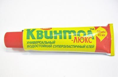 Клей КВИНТОЛ ЛЮКС универсальный водостойкий 45 мл