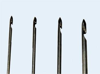 Крючок для ручной прошивки в ассортименте