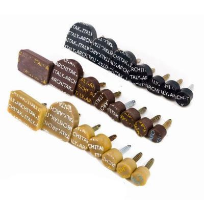 Набойки полиуретановые со штырем ARCHITAK №5 коричневые