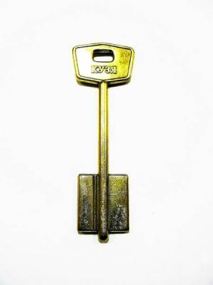 Заготовка для ключа КУЗЯ МТР-5 флажковый, левый  паз