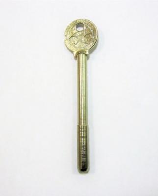 Заготовка для ключа, регильная,1_паз,  _BR12