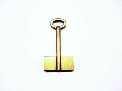 Заготовка для ключа флажковая 2-ст. без пазов широкая