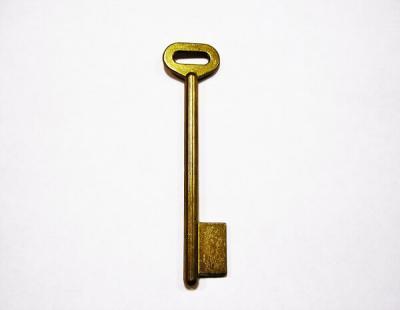 Заготовка для ключа ГПЗ-3 однофлажковая правая без паза