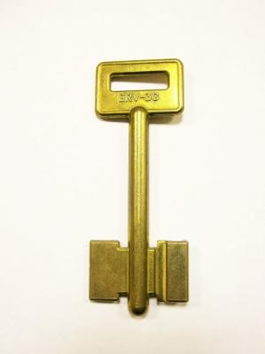 Заготовка для ключа ERV-3G антик 2-х флажковая 1 правый паз