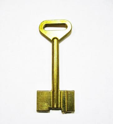 Заготовка для ключа Тинга 2-х флажковая 1 паз правый