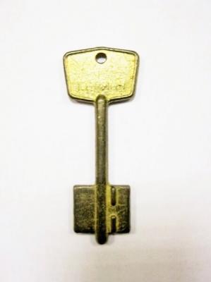 Заготовка для ключа Герион флажковая