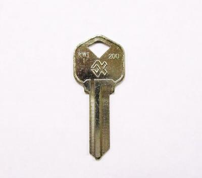 Заготовка для ключа KW-1 английская