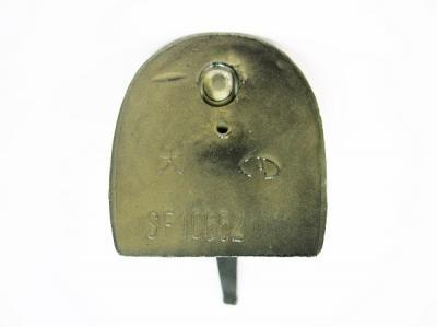 Каблук модельный женский МАО 10652 5/6 чёрный