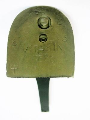 Каблук женский модельный  МАО 2385 7/8 чёрный