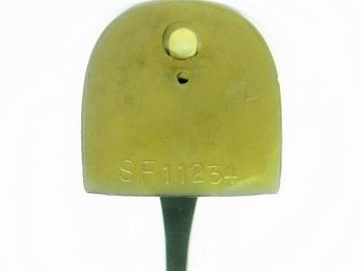 Каблук женский модельный МАО SF11234 7/8 чёрный