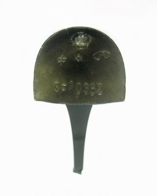 Каблук женский модельный МАО 10362 7/8 черный