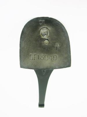 Каблук МАО женский модельный 13949 5/6 цвет черный