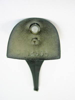 Каблук женский МАО модельный 12595 7/8 цвет черный