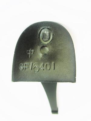 Каблук МАО женский модельный 16401 7/8 цвет черный